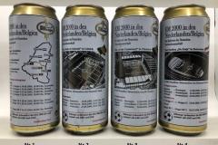 BCS007 BITBURGER PREMIUM PILS EM2000 NIEDERLANDE/BELGIEN 4 CAN SET GERMANY 12 EURO