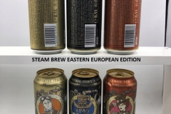 BCS018 STEAM BREW EAST EUROPEAN EDITION 3 CAN SET GERMANY (2019) 8 EURO