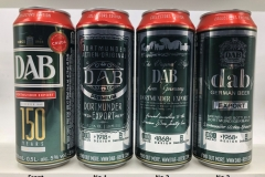 BCS013 DAB 150 YEARS EDITION (2018) 3 CAN SET GERMANY 9 EURO