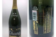 Chang 25th Annaversery glass bottle 1500ml Thailand 5 Euro