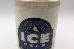 Hahn Ice Beer Stubby Holder / Beer Can Cooler Hard Plastic Cover - Styrofoam inside Australia 2 EURO