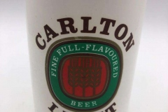 Carlton Light Stubby Holder / Beer Can Cooler Hard Plastic Cover - Styrofoam inside Australia 2 EURO