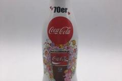 """CAB021 100 Jahre Coca-Cola Kontur Flasche """"70er"""" 06 von 10 2015 GERMANY 5 EURO"""
