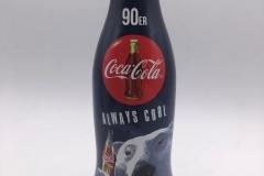 """CAB023 100 Jahre Coca-Cola Kontur Flasche """"90er"""" 018von 10 2015 GERMANY 5 EURO"""