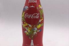"""CAB024 100 Jahre Coca-Cola Kontur Flasche """"2000er"""" 09 von 10 2015 GERMANY 5 EURO"""