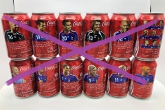 CCS018 Fifa Worldcup 2006 complete set 2006 France 24 EURO (Single cans available, please ask)