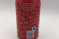 CCC002 Coca Cola die offizielle WM Dose USA 1994 Germany 2 EURO