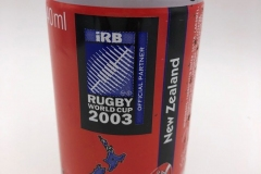 "CCC031 Coca Cola ""Rugby World Cup No. 12 of 20 New Zealand"" 2003 South Africa 3 EURO"