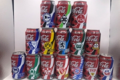 CCS001 Coca Cola Fussball Collection 2002 Germny 15 can set 30 EURO