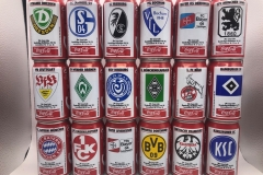 CCS002 Coca Cola Bundesliga Kollektion 94/95 Germany 18 can set 36 EURO