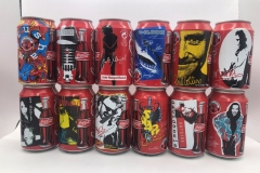 CCS004 Coca Cola Always Music Edition 1996 Germany 12 can set 24 EURO