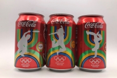 CCS006 Olympic SET 3 Cans Hungary 6 EURO
