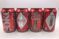 CCS011 Coke Retro Set 2013 Czech Republic 8 EURO