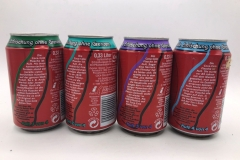 CCS014 Erfrischung ohne Grenzen 1-4 Set 2009 Germany 8 EURO (Single cans available, please ask)