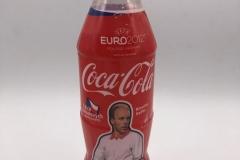 Coca Cola Euro 2012 Miroslav Kadlec Plastic Bottle Czech Republic 3 EUR
