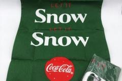 Coca Cola let it snow kitchen towel 5 EUR/each
