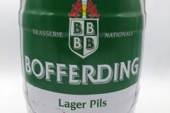 KEG006 Bofferding Lager Pils 1996 Luxembourg 5 EURO