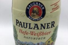 KEG018 Paulaner Hefe Weissbier 2008 Germany 5 EURO